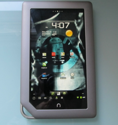 NOOK Tablet with CyanogenMod 7