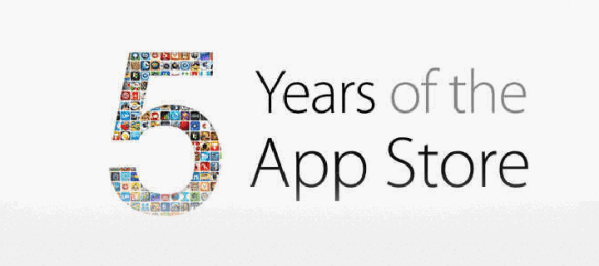 Specjalna sekcja z okazji 5 lat App Store'a