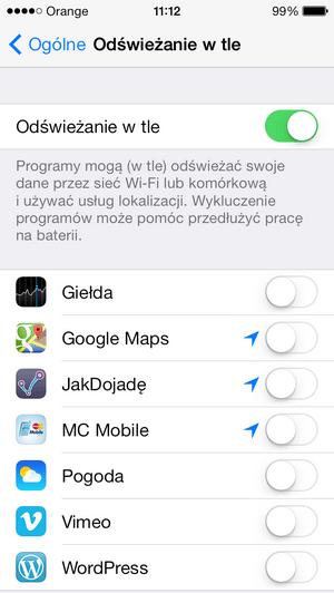 iOS-7-bateria--odswiezanie-w-tle