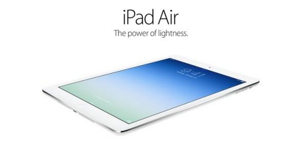 iPad Air – nowy tablet od Apple'a