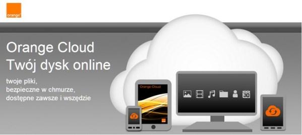 Orange Cloud – 5 GB w chmurze za darmo!