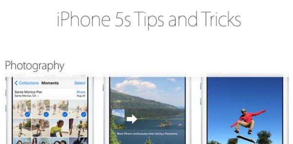 Tips and Tricks dla iPhone'ów od Apple'a