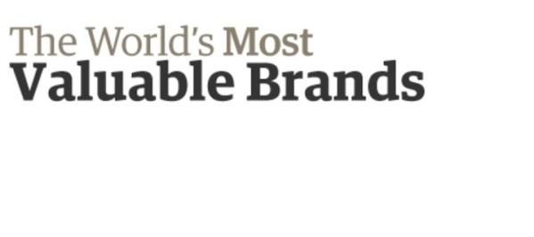 Apple znów najbardziej wartościową marką
