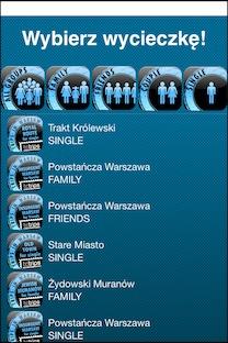 TcTrips screen aplikacji