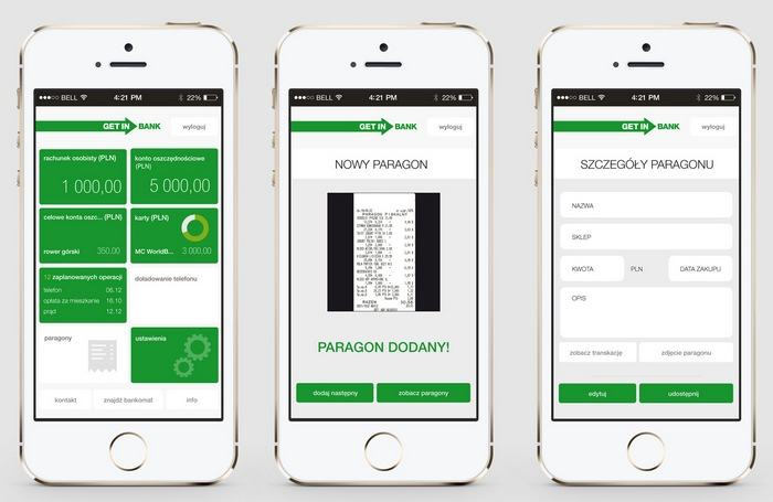 Getin Mobile - aplikacja