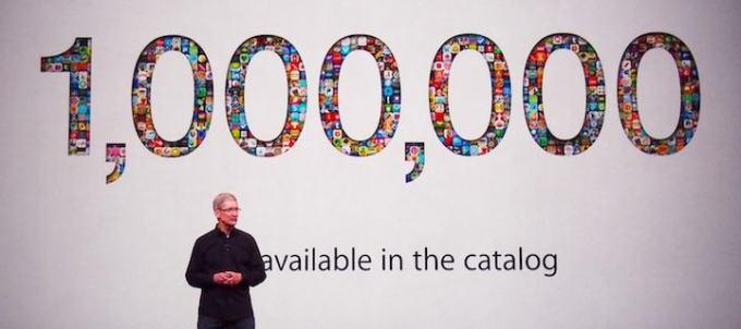 Milion aplikacji dostępnych w amerykańskim App Store