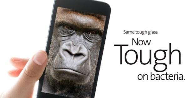 Antybateryjne szkło Gorilla Glass do iPhone'a