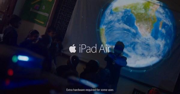 Dwie nowe reklamy iPada Air
