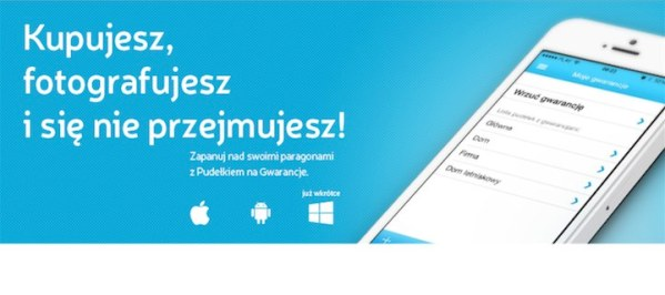 Pudełko na Gwarancje dostępne na Androida