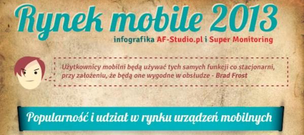 Rynek mobile 2013 [infografika]