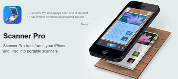 Scanner Pro za darmo w App Storze