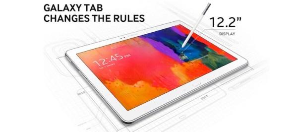 Samsung Galaxy NotePRO 12.2 – reklama