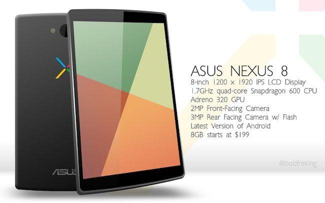 Asus Google Nexus 8