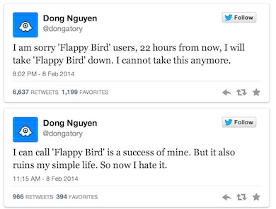 Flappy Bird - Tweeter