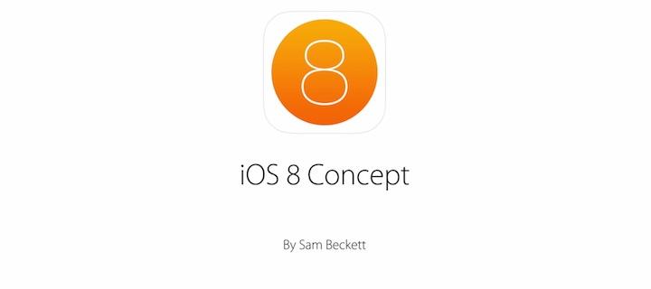 iOS 8 koncepcja