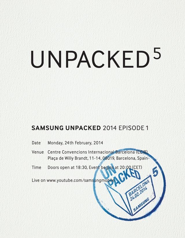 Zaproszenie na Samsung Unpacked 5
