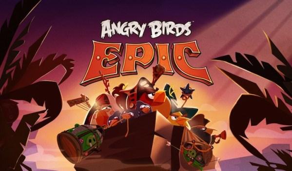 Angry Birds Epic będzie grą RPG