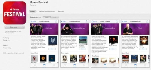 iTunes Festival w wersji 5.0