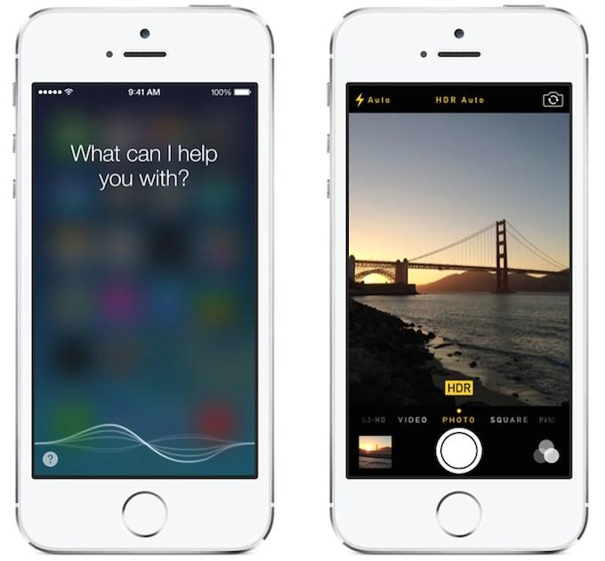 Siri i auto HDR na iOS 7.1