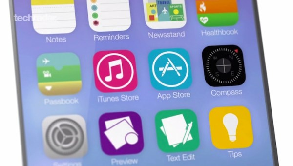 Wideokoncept systemu iOS 8
