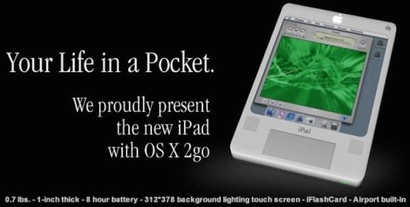 Jak wyobrażano sobie iPada 10 lat temu?