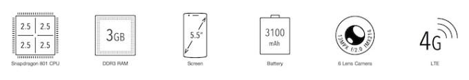 OnePlus One - specyfikacja