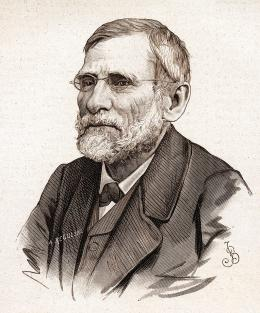 Portret Oskara Kolberga z 1881 r.
