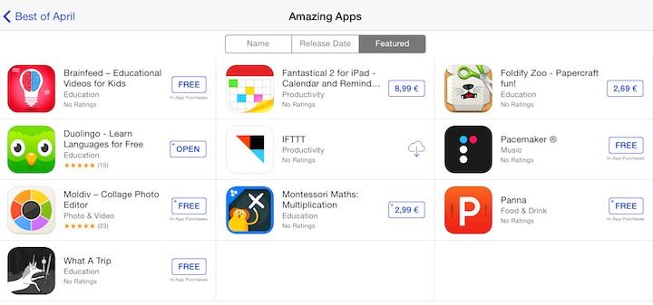 Best of April Amazing Apps