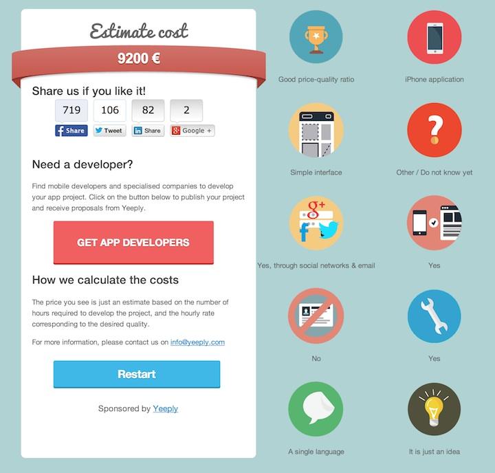 Estymowany koszt aplikacji mobilnej
