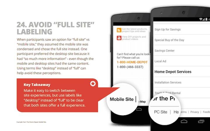 Linki do pełnej strony i mobilnej wersji