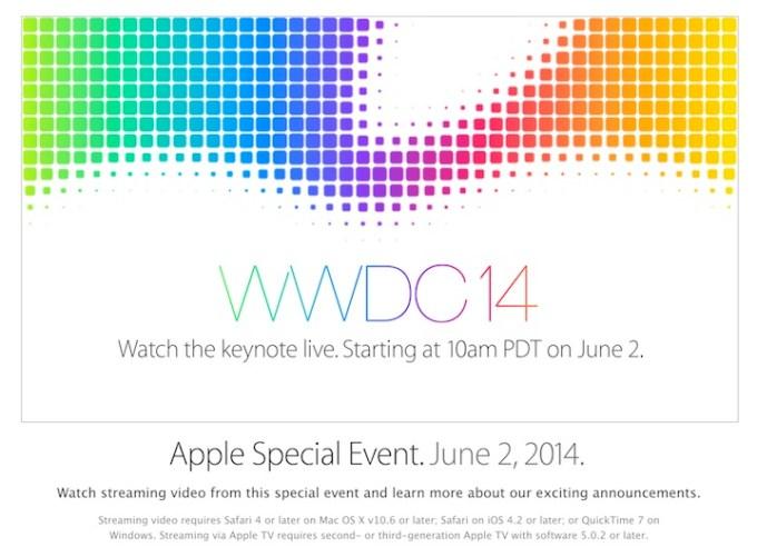 Konferencja WWDC 2014