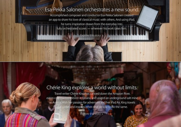 Nowe reklamy iPada Air