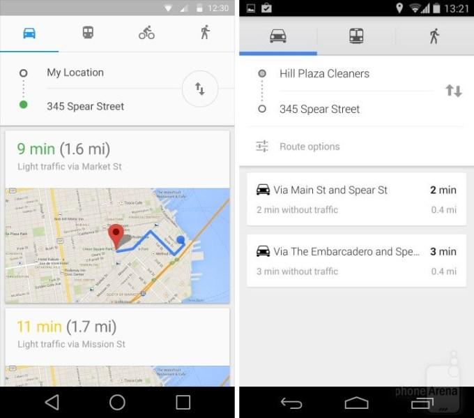 Nowy wygląd Map Google (Google Maps) #2