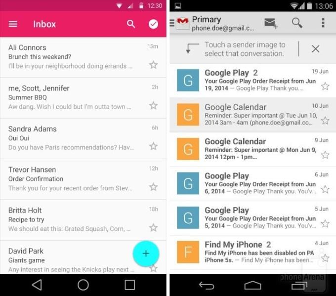 Gmail na Androidzie