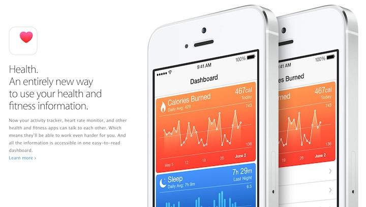 Health Zdrowie iOS 8