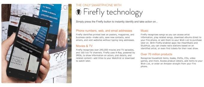 Amazon Fire Phone - Firefly
