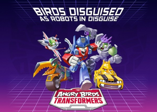 Angry Birds Transformers w przygotowaniu