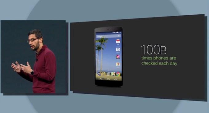 100 miliardów sprawdzeń telefonu dziennie