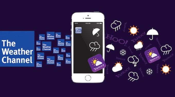 The Weather Channel zastępuje Yahoo w iOS 8