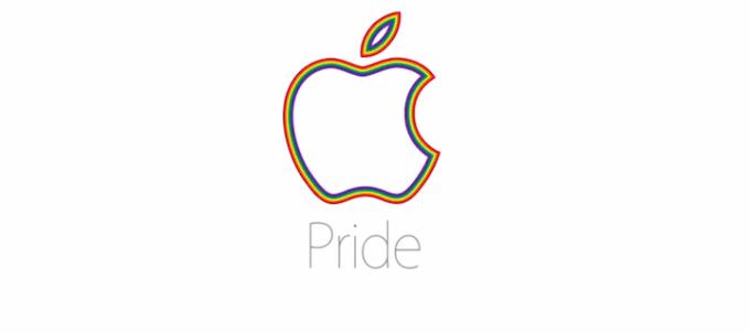 Logo Apple - Pride LGBT