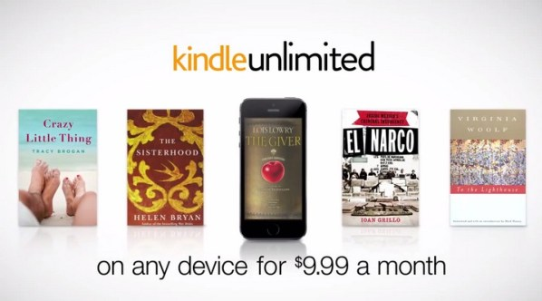 Amazon uruchomił usługę Kindle Unlimited
