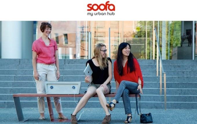 Soofa - urban hub