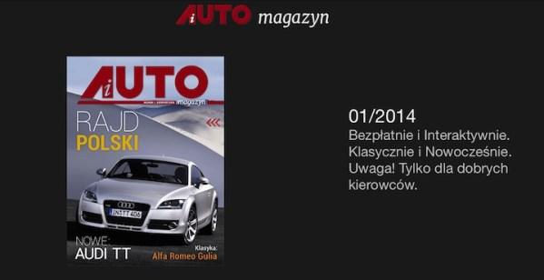 iAUTO – magazyn motoryzacyjny na tablety