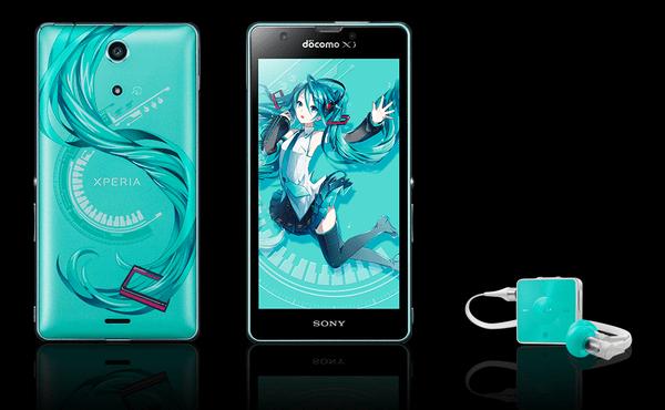 Sony Xperia A Hatsune Miku Edition