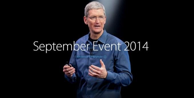 Wideo z konferencji Apple'a z 9 września 2014 roku