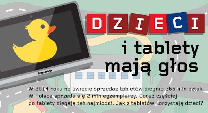 Dzieci i tablety