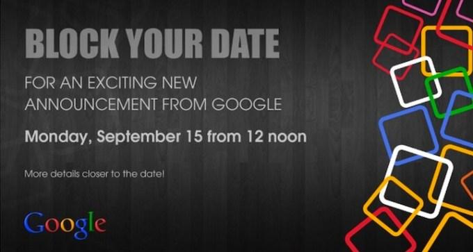 Zaproszenie na konferencję Google - 15 września 2014 r.