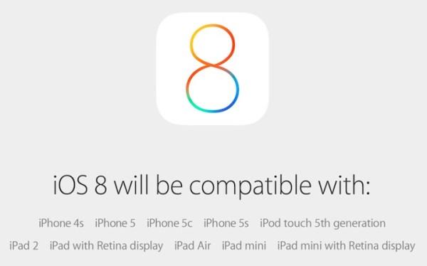 iOS 8 do pobrania w środę 17 września