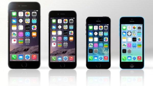 iPhone 6 Plus vs. iPhone 6, 5s i 5c – porównanie