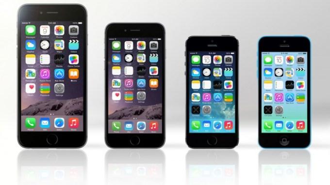 iPhone 6 Plus vs iPhone 6 vs iPhone 5s vs iPhone 5c